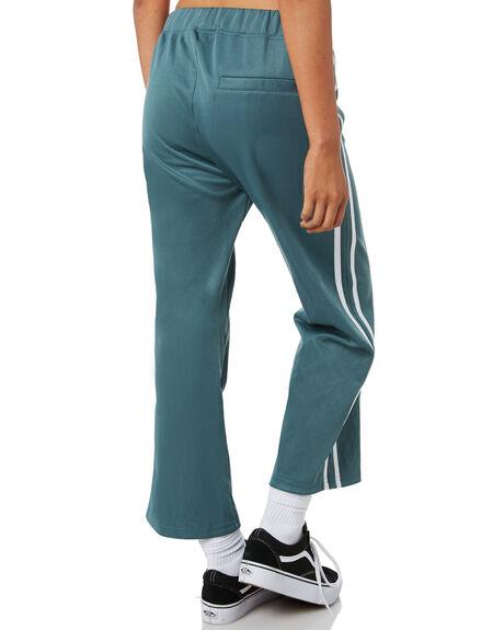 DARK TEAL OUTLET WOMENS STUSSY PANTS - ST195618TEAL