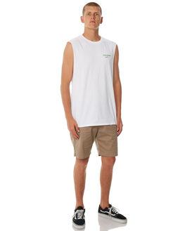WHITE MENS CLOTHING SWELL SINGLETS - S5184274WHITE