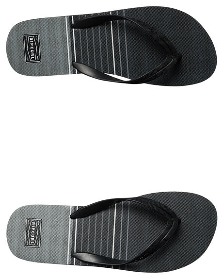 BLACK MENS FOOTWEAR RIP CURL THONGS - TCTE900090