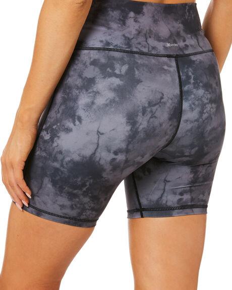 BLACK TIE DYE WOMENS CLOTHING HURLEY ACTIVEWEAR - 3HKP0267BLKTD
