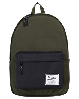 FOREST NIGHT BLACK MENS ACCESSORIES HERSCHEL SUPPLY CO BAGS + BACKPACKS - 10492-01572-OSFOR