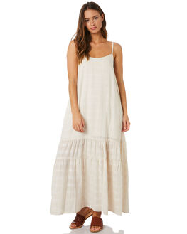 CREAM TEXTURE WOMENS CLOTHING SAINT HELENA DRESSES - SHS19222CRM