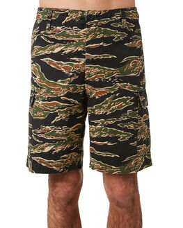 TIGER CAMO MENS CLOTHING OBEY SHORTS - 172100062TIGER