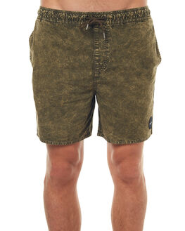 MILITARY MENS CLOTHING RVCA BOARDSHORTS - R171312MIL