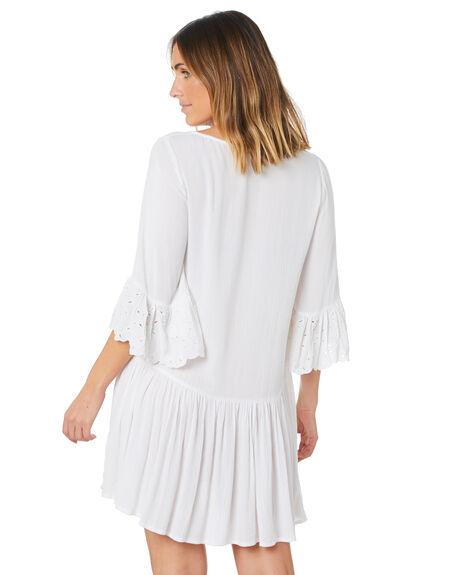 WHITE WOMENS CLOTHING RIP CURL DRESSES - GDRDI91000