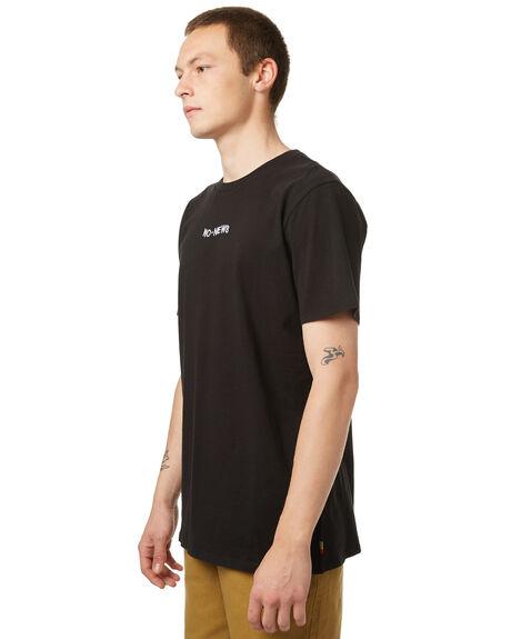 VINTAGE BLACK MENS CLOTHING NO NEWS TEES - N5174000VBLK