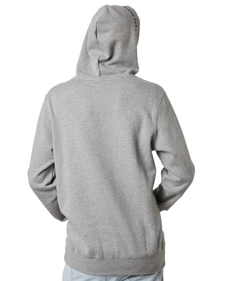 GREY HEATHER MENS CLOTHING HUF JUMPERS - PF00098GYHTR