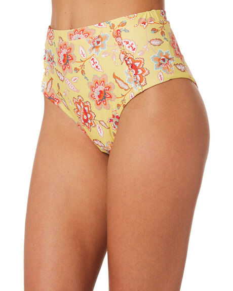 LEMON WOMENS SWIMWEAR RUSTY BIKINI BOTTOMS - SWL1369LEM