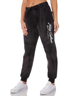 BLACK WOMENS CLOTHING RUSTY PANTS - PAL1115BLK