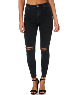 MIDNITE WOMENS CLOTHING A.BRAND JEANS - 71374-4273