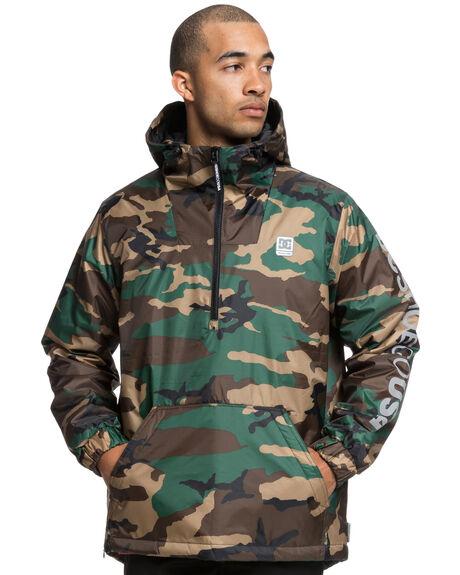 CAMO MENS CLOTHING DC SHOES JACKETS - EDYJK03184GRW6