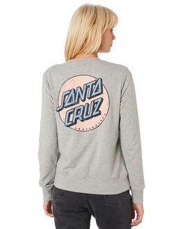 GREY MARLE WOMENS CLOTHING SANTA CRUZ JUMPERS - SC-WFA9813GREYM