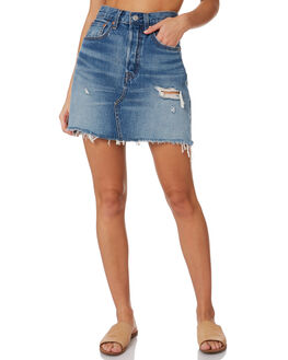 HIGH PLAINS WOMENS CLOTHING LEVI'S SKIRTS - 77882-0011HIGH