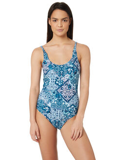 TEAL TILES WOMENS SWIMWEAR O'NEILL ONE PIECES - 5321901TTS