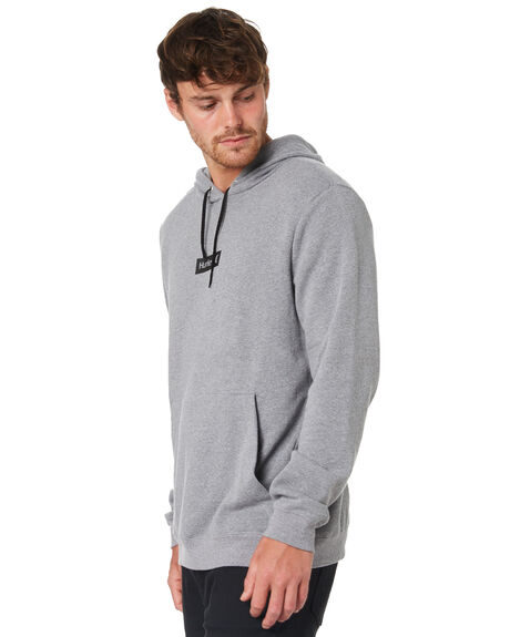 GREY HEATHER MENS CLOTHING HURLEY JUMPERS - BQ0575050