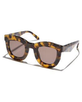 YELLOW GREY TORT WOMENS ACCESSORIES VALLEY SUNGLASSES - S0365YELGY