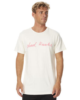 OFF WHITE MENS CLOTHING DEAD KOOKS TEES - DKSSTEE06OWHT