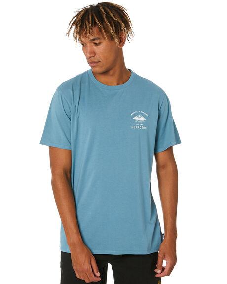 SEA GREEN MENS CLOTHING DEPACTUS TEES - D5202002SEAGN