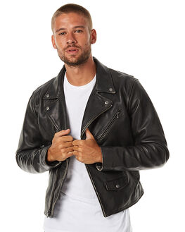 BLACK MENS CLOTHING LEVI'S JACKETS - 27564-0001BLK