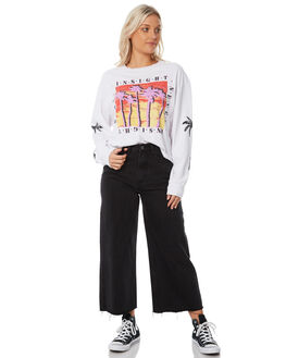 DUST BLACK WOMENS CLOTHING INSIGHT JEANS - 5000002697DBLK