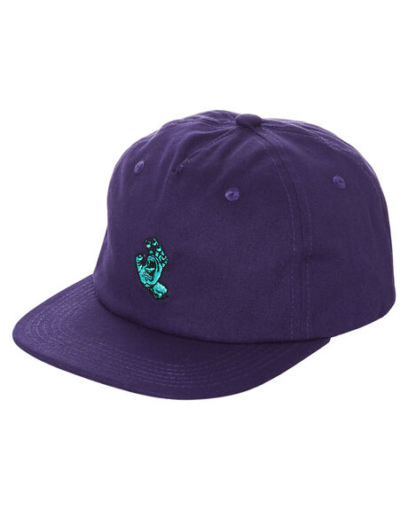 DEEP GRAPE MENS ACCESSORIES SANTA CRUZ HEADWEAR - SC-MCD0773-3DPGRP