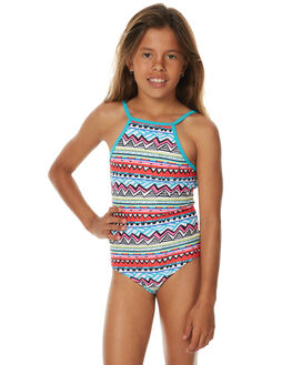 RED KIDS GIRLS RIP CURL SWIMWEAR - JSICF10040