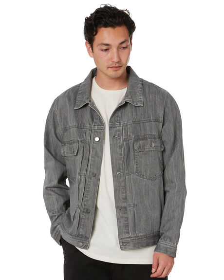 GREY MENS CLOTHING SWELL JACKETS - S5203382GREY