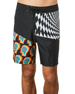 VORTEX BLACK MENS CLOTHING GLOBE BOARDSHORTS - GB01928008VBLK