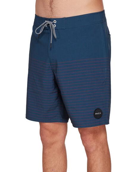 NAVY MARINE MENS CLOTHING RVCA BOARDSHORTS - RV-R383411-MYV