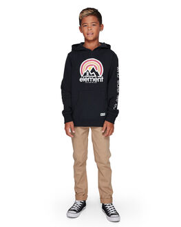FLINT BLACK KIDS BOYS ELEMENT JUMPERS + JACKETS - EL-307301-IFL