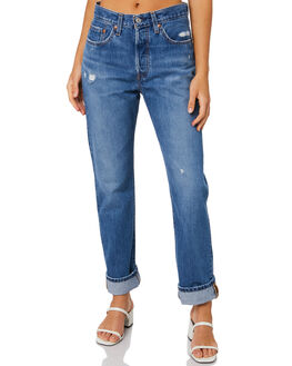ATHENS DARK WOMENS CLOTHING LEVI'S JEANS - 12501-0346