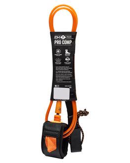 BLACK ORANGE BOARDSPORTS SURF DAKINE LEASHES - 10001797BLKOG