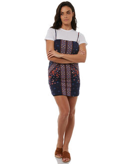 INDIGO WOMENS CLOTHING TIGERLILY DRESSES - T383421INDI