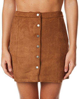 TAN WOMENS CLOTHING ALL ABOUT EVE SKIRTS - 6491018TAN