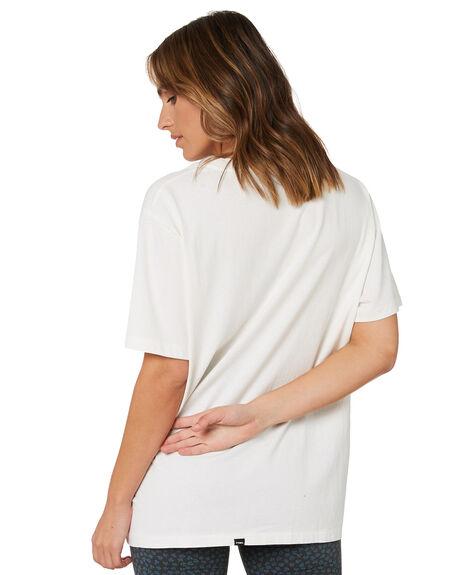 DIRTY WHITE WOMENS CLOTHING THRILLS TEES - WTH21-112ADWHT