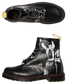 BACKHAND STRAW GRAIN MENS FOOTWEAR DR. MARTENS BOOTS - SS24789001BHSGM