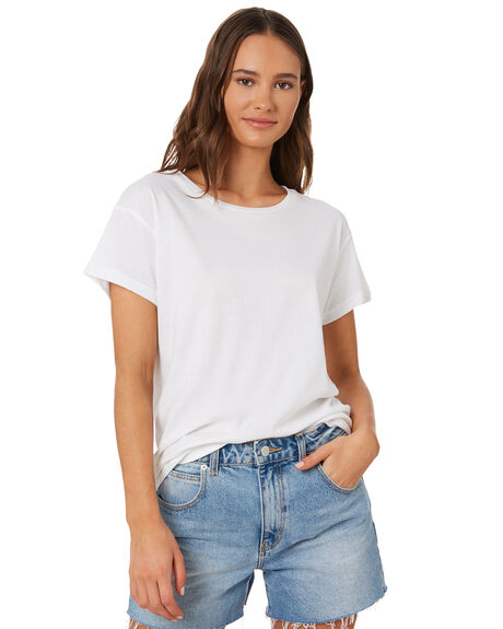WHITE WOMENS CLOTHING SILENT THEORY TEES - 6085027WHT