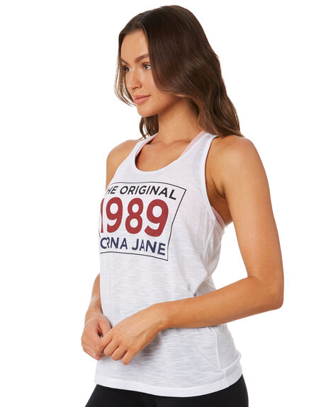 WHITE WOMENS CLOTHING LORNA JANE ACTIVEWEAR - 101975WHT
