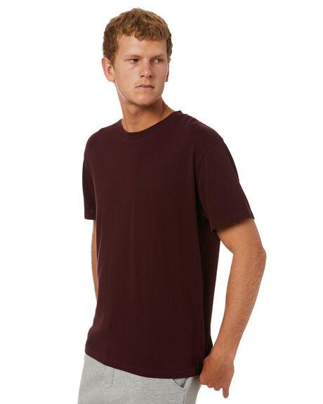 MERLOT MENS CLOTHING ACADEMY BRAND TEES - 21S440MRL