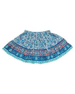 INDAH BLUE KIDS TODDLER GIRLS SWEET CHILD OF MINE SHORTS + SKIRTS - SMU18FRLLSKRTIND