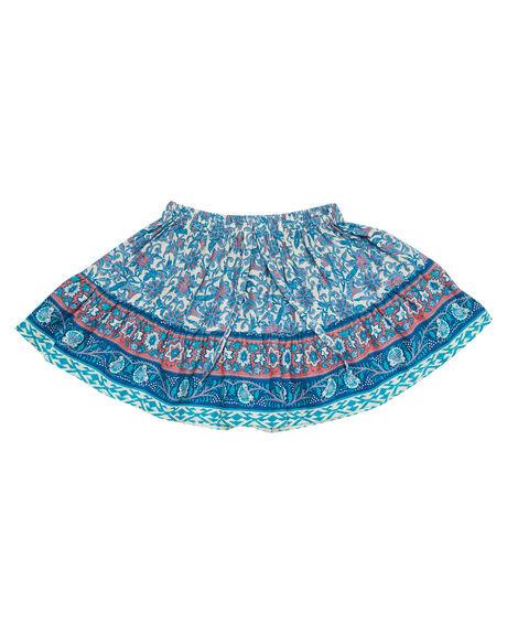 INDAH BLUE KIDS GIRLS SWEET CHILD OF MINE SHORTS + SKIRTS - SMU18FRLLSKRTIND