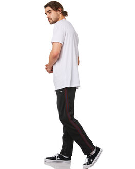 BLACK MENS CLOTHING STUSSY PANTS - ST082620BLK