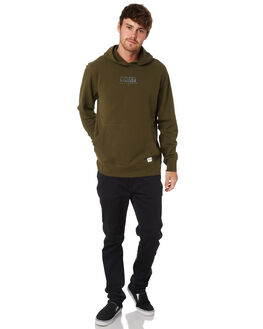 OLIVE CANVAS MENS CLOTHING HURLEY JUMPERS - AJWF0002395