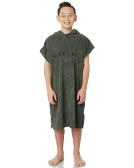 DARK OLIVE KIDS BOYS RIP CURL TOWELS - KTWCG19389