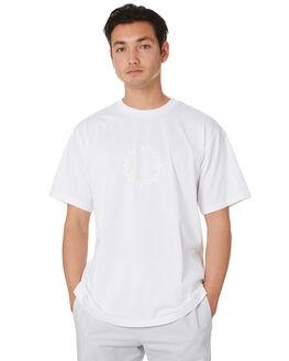 WHITE OFF WHITE MENS CLOTHING ADIDAS TEES - FU1537WTOWT