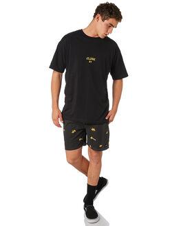 NOIR MENS CLOTHING GLOBE BOARDSHORTS - GB01818008NOIR