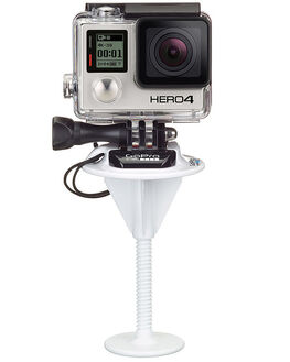 WHITE MENS ACCESSORIES GOPRO AUDIO + CAMERAS - ABBRD-001WHI