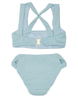 DUSTY BLUE KIDS GIRLS FELLA SWIM SWIMWEAR - LF-TP-001-DBL