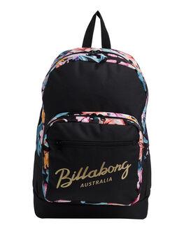 BLACK WOMENS ACCESSORIES BILLABONG BAGS + BACKPACKS - BB-6692002-BLK