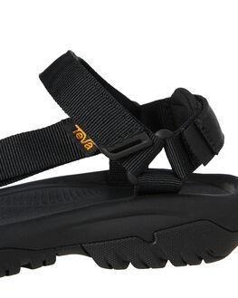 BLACK WOMENS FOOTWEAR TEVA FASHION SANDALS - T1019235BLK